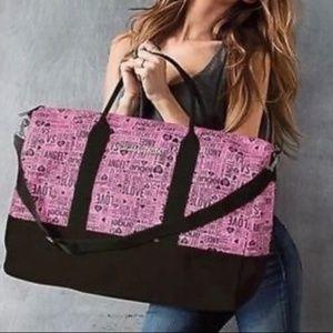 Victoria Secret Pink Weekender Large Bag